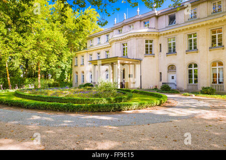 The Wannsee House in Berlin, Germany.