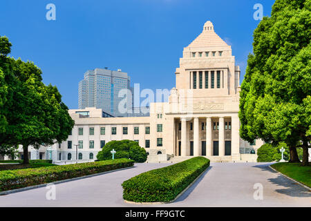 Japanese Diet House in Tokyo, Japan. - Stock Photo