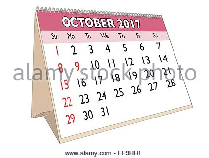 15+ October 2017 Calendar Printable Free Download ...