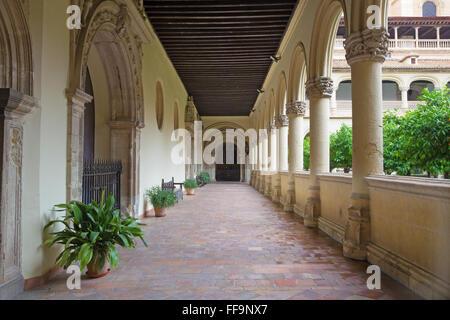 GRANADA, SPAIN - MAY 29, 2015: The atrium of church Monasterio de San Jeronimo. - Stock Photo