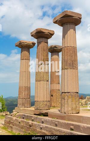 Doric temple of Athena (530 BC), Assos, Canakkale Province ...