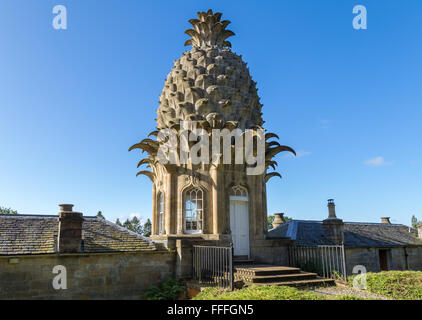 The Dunmore Pineapple, Airth, Falkirk, Scotland, UK - Stock Photo