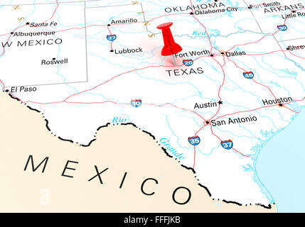 El Paso Texas Map Editable PPT USA Maps An Invaluable Tool For - Usa texas map