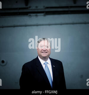 Name: Secretary of the Air Force Michael Donley Where they are from: Washington D.C. Reason for visiting: Accepting - Stock Photo