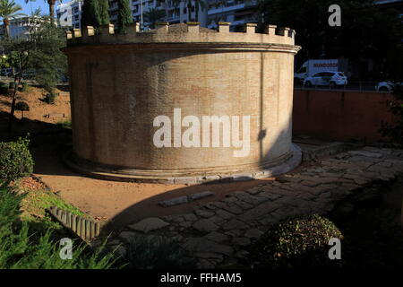Buildings of Roman mausoleum, Cordoba, Spain - Stock Photo