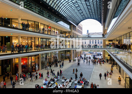 Mall of Berlin at Leipziger Platz - Stock Photo