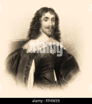 Arthur Capell, 1st Baron Capell of Hadham, 1608-1649, an English politician - Stock Photo