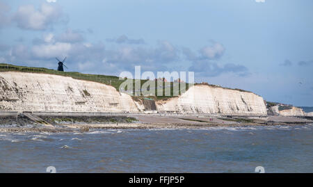 ROTTINGDEAN, EAST SUSSEX/UK - MAY 24 : Rottingdean Black Smock Windmill near Brighton in East Sussex England on - Stock Photo