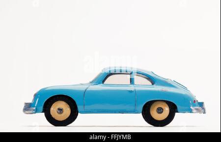 Vintage Porsche 356A Dinky Toy sports car 182 - Stock Photo