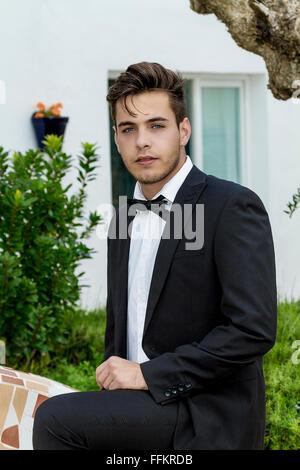 looking boy - Stock Photo