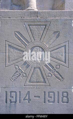 France, Meuse (55), Verdun, memorial to Verdun's soldiers dead during WWI // Meuse (55), Verdun, monument aux enfants - Stock Photo