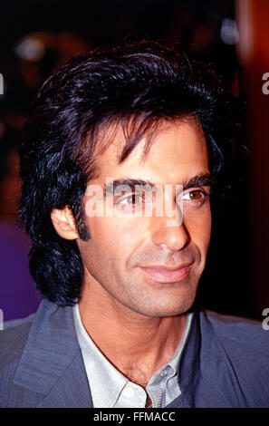 Copperfield, David, * 16.9.1956, American conjurer, portrait, during a press conference, Munich, 10.9.1993, Additional - Stock Photo