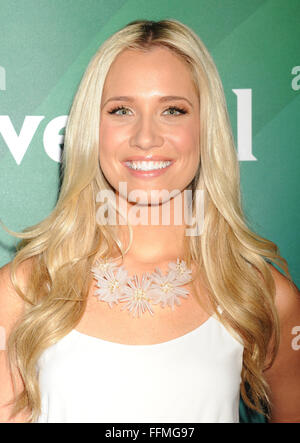 Actress Kristine Leahy attends the 2015 NBCUniversal Summer Press Day held at the The Langham Huntington Hotel and - Stock Photo
