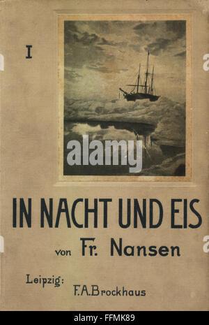 1897 NANSEN NORTH POLE POLAR EXPLORATION 1st Ed 2 VOLUMES + MAPS ILLUSTRATED