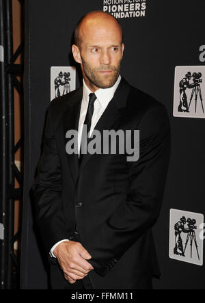 Actor Jason Statham attends the Pioneer Dinner during 2015 CinemaCon at Caesars Palace on April 22, 2015 in Las - Stock Photo