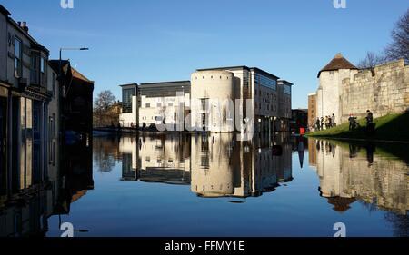York Floods December 2015 - Stock Photo