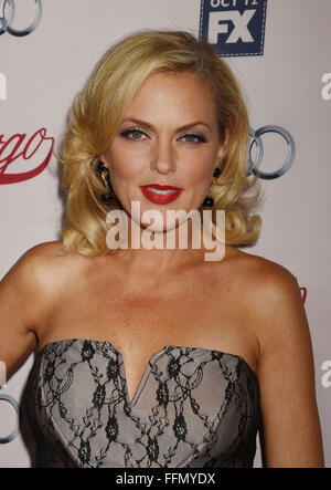 Actress Elaine Hendrix attends the premiere of FX's 'Fargo' Season 2 held at ArcLight Cinemas on October 7, 2015 - Stock Photo