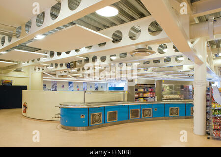 Brighton and Hove College, Brighton, England restaurant - Stock Photo