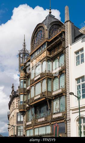 Museum of Musical Instruments, Brussels, Belgium, Europe - Stock Photo