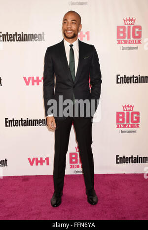 Actor Kendrick Sampson attends VH1 Big In 2015 With Entertainment Weekly Awards at Pacific Design Center on November - Stock Photo