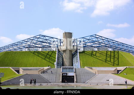 geography / travel, France, Palais Omnisports du Paris-Bercy, exterior view, Additional-Rights-Clearance-Info-Not - Stock Photo