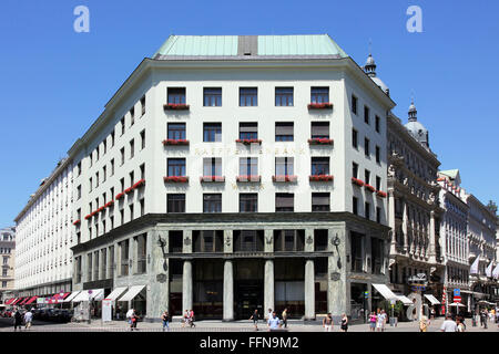 geography / travel, Austria, Vienna, Loos Building (Looshaus), built: 1909 by Adolf Loos, Additional-Rights-Clearance - Stock Photo