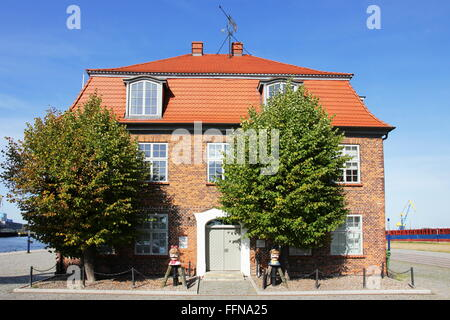 geography / travel, Germany,Mecklenburg-West Pomerania, Wismar, Am Hafen, Tree House, Additional-Rights-Clearance - Stock Photo
