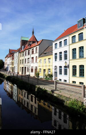 geography / travel, Germany, Mecklenburg-West Pomerania, Wismar, Muehlengrube, Additional-Rights-Clearance-Info - Stock Photo