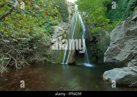 Griechenland, Kreta, Nordosten, Exo Mouliana, Richti-Schlucht - Stock Photo