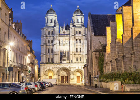 Saint-Michel church in Dijon, France - Stock Photo
