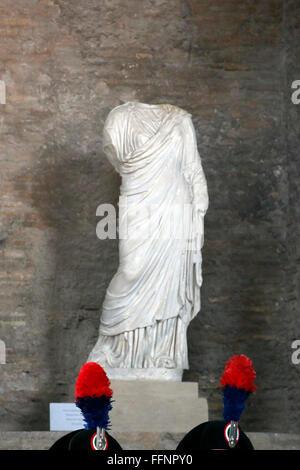 Rome, Italy. 16th February, 2016. Carabinieri Rome 16th February 2016. Baths of Diocleziano. Cerimony for the birth - Stock Photo
