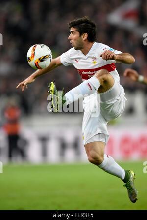 Emiliano Insua, VfB Stuttgart, Mercedes-Benz Arena, Stuttgart, Baden-Württemberg, Germany - Stock Photo