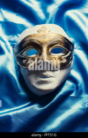 Mask covered with a mask - Stock Photo