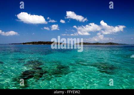 Jolly Buoy island near Wandoor Andaman India Asia - Stock Photo