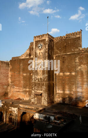 Bhadra fort in 1411 AD ; Ahmedabad ; Gujarat ; India - Stock Photo