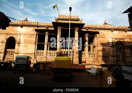 Jama masjid in 1423 AD ; Ahmedabad ; Gujarat ; India - Stock Photo