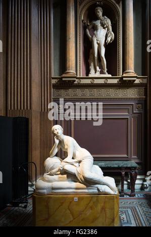 Fitzwilliam Museum of Art and Antiquities on Trumpington Street in Cambridge, England - Stock Photo
