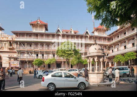 Architecture near swaminarayan temple Ahmedabad Gujarat India - stp 225306 - Stock Photo