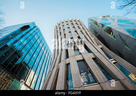 Tokyo, Japan - January 14, 2016: The Iconic Omotesando Keyaki Building. - Stock Photo