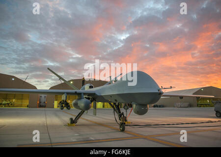 Drone, MQ-9 Reaper military drone - Stock Photo