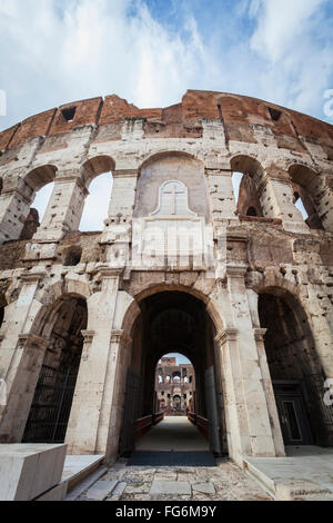 Colosseum; Rome, Italy - Stock Photo