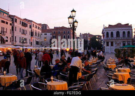 geography / travel, Italy, Venetia, Venice, San Marco Quarter, Campo Santo Stefano, Additional-Rights-Clearance - Stock Photo