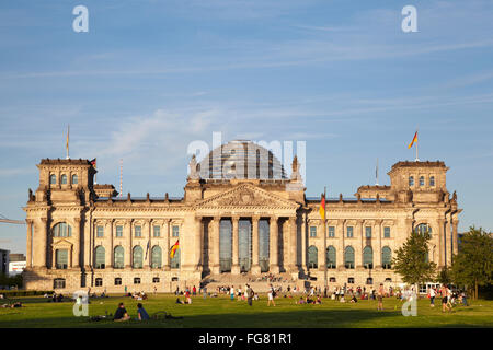 the Reichstag - Stock Photo