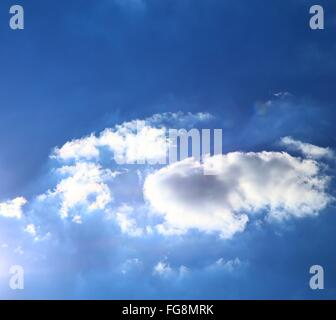 Low Angle View Of Sky - Stock Photo