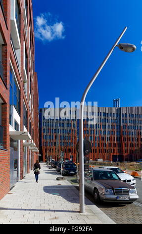 geography / travel, Germany, Hamburg, HafenCity, Singapurstrasse, Additional-Rights-Clearance-Info-Not-Available - Stock Photo