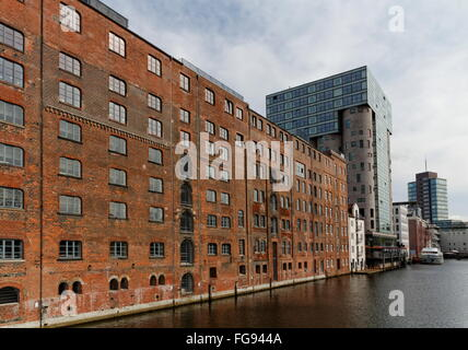 geography / travel, Germany, Hamburg, Harburg, Binnenhafen, Additional-Rights-Clearance-Info-Not-Available - Stock Photo