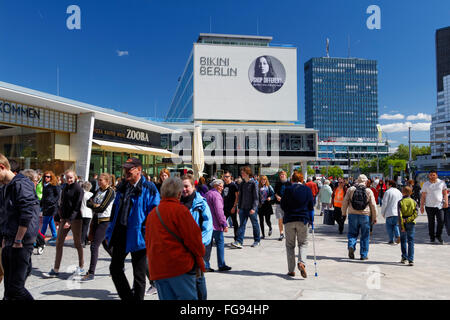 view of new mall of berlin shopping mall in potsdamer platz potsdam stock photo royalty free. Black Bedroom Furniture Sets. Home Design Ideas
