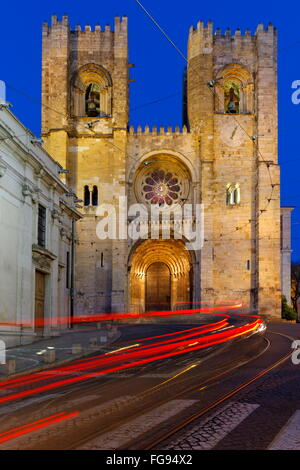 geography / travel, Portugal, Lisbon, Catedral Se Patriarcal, Alfama, Additional-Rights-Clearance-Info-Not-Available - Stock Photo