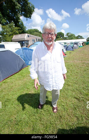 Rolf Harris, Australian singer-songwriter, composer, comedian, actor, painter and television presenter. Glastonbury - Stock Photo