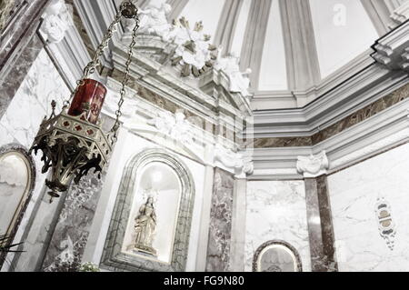 Interior church details - Stock Photo